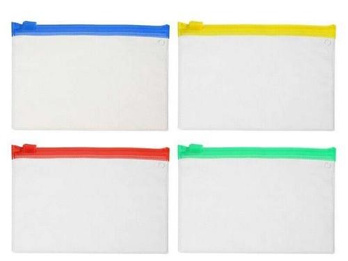 Saco Plástico Zip Lock de Documentos