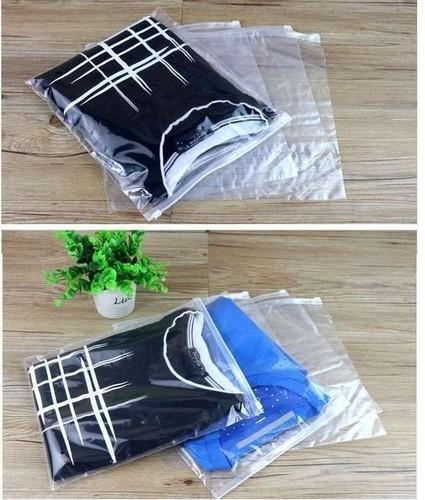 Saco Plástico Zip para Roupas