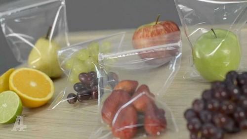sacos plásticos com fechamento zip lock