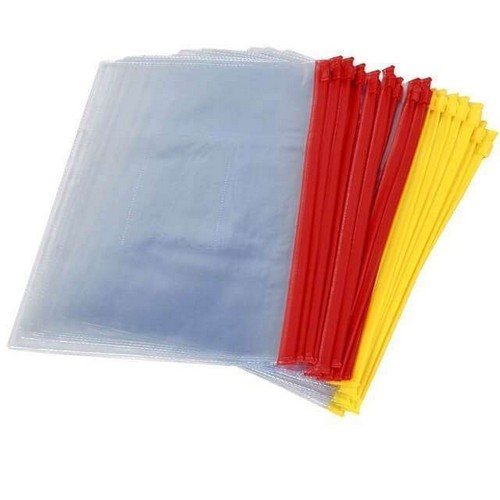 Sacos Plásticos Zip para Documentos