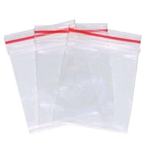 Sacos Transparentes com Fecho Zip Lock