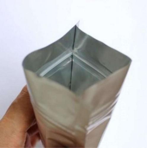 Sacos Zip Lock Metalizado Liso