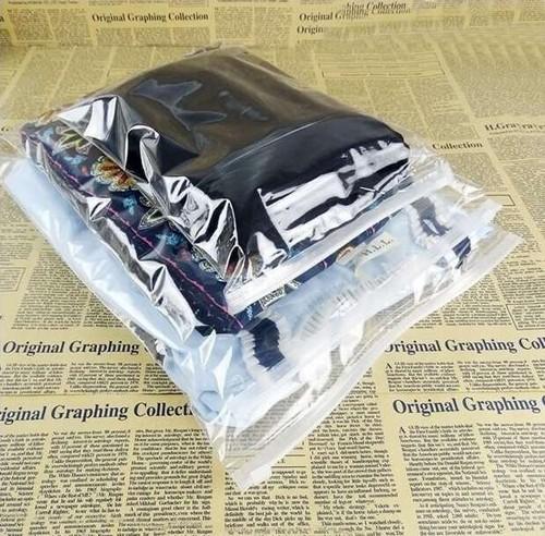 Sacos Zip Lock para Confecção Liso
