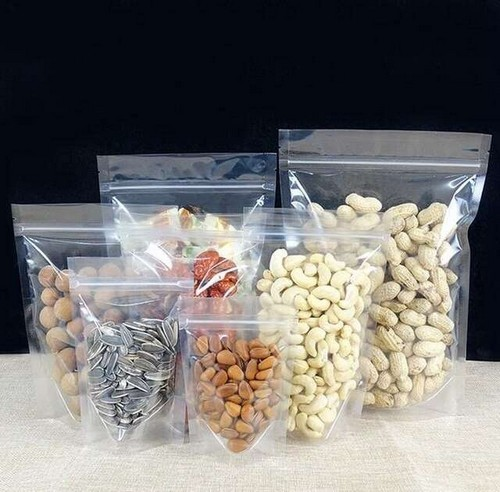 sacos zip para alimento de plástico